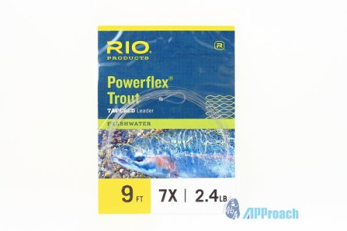 RIO Powerflex Trout 9ft Leader