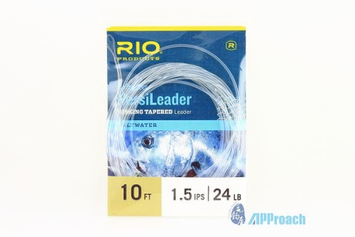 RIO VersiLeader Sinking Tapered (Clear) Saltwater 10ft