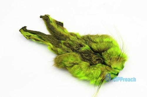 兔臉毛 (黃綠色)