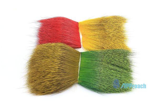 鹿軀體毛 (紅, 黃, 橄欖色, 綠)