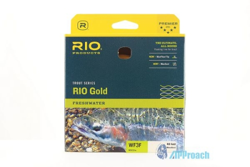 Trout Series Trout RIO Gold Freshwater WF3F edited